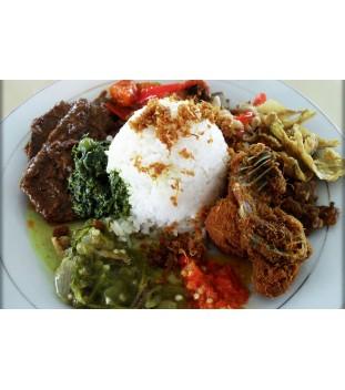 Traditional Nasi Padang