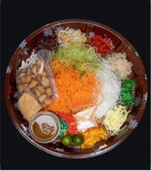 Prosperity Lo-Hei (Vegetarian Yu Sheng Platter)