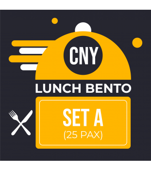 CNY Lunch Bento Set A $8.00 (25 pax)