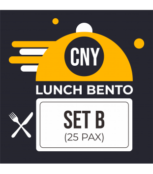 CNY Lunch Bento Set B $10.00 (25 pax)