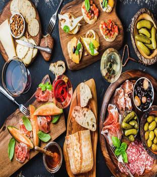 Mediterranean Buffet A