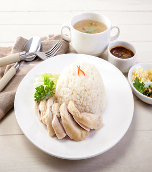 Chicken Rice Set (Roast)