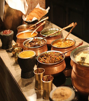 North Indian Vegetarian Buffet