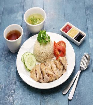 Chicken Rice Set (Steam)